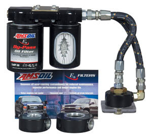 AMSOIL Ford 7.3L Dual Remote Bypass System