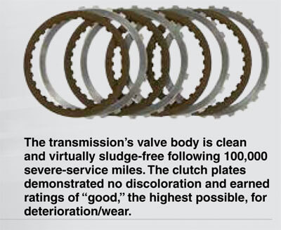 Signature Series Fuel-Efficient Synthetic Automatic Transmission Fluid Clutch plates