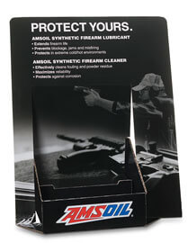 AMSOIL Firearm Sporting POP Display